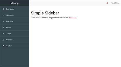 amazing  bootstrap sidebar templates