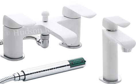Hudson Reed Hero> Basin & Bath Shower Mixer Tap Set Easy Diy Coffee Table Catalan Oval Glass Top Modern Bar Ikea Clear With Chrome Legs Free