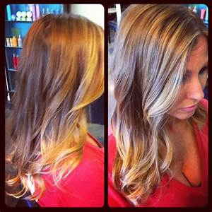 ombre hair color on Tumblr