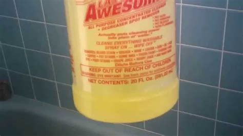La's Awesome Cleaner Helped Clean My Tub!!!! Youtube