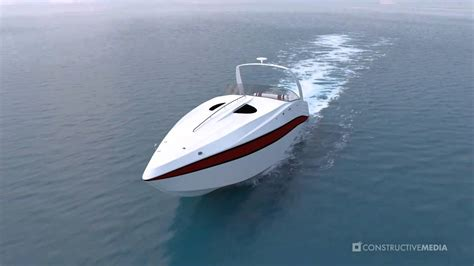 Speed Boat Max Speed by 3d Speedboat Animation
