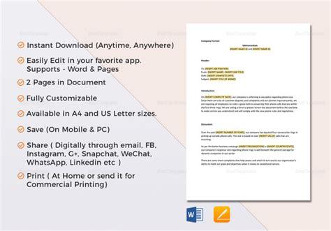 memo template google 15 audit memo templates free sle exle format free premium templates
