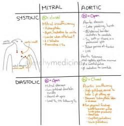 Systolic V Diastolic Heart Murmurs