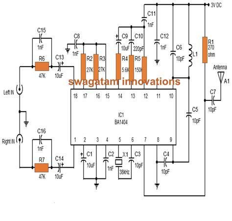 Make This Stereo Transmitter Using Circuit
