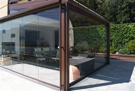 veranda in vetro vetrate e verande panoramiche con telaio o tutto vetro per