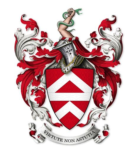 arms  nourse  weston  penyard herefs england
