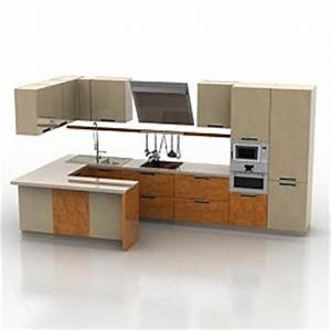 kitchen furniture 3d models kitchen scavolini mood With kitchen furniture 3ds max free