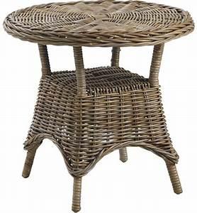 Table D Appoint Jardin : table d 39 appoint en rotin ~ Teatrodelosmanantiales.com Idées de Décoration