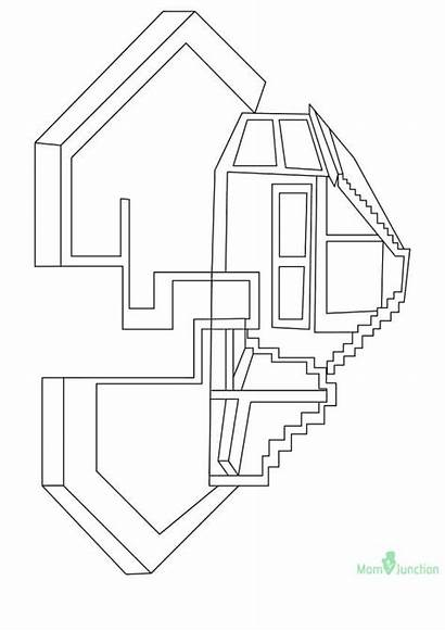 Minecraft Coloring Pages Printable Farm Pickaxe Dragon