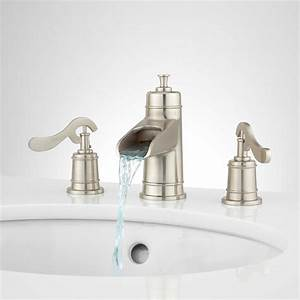 rotunda widespread bathroom faucet lever handles faucets With bathroom vanity faucets clearance