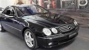 2005 Mercedes Benz Cl500 Black