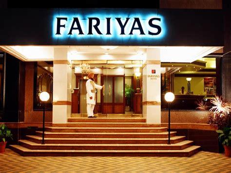 fariyas hotel mumbai india  room rates promotions