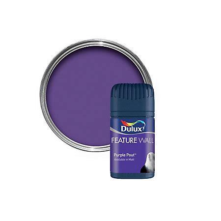 dulux purple pout matt emulsion paint 0 05l tester pot departments diy at b q