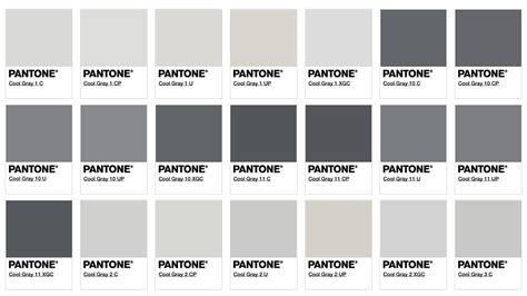 Pantone Farben Grau by Inspiration And Ideas From Block Club