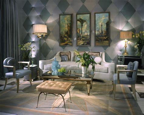 venetian inspired deco living room