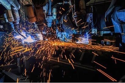 Welding Engineering Thermal Industrial Robots Industry Factory