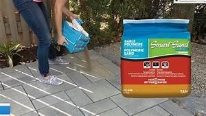 Comment installer le sable polymere smartsand de for Joint polymere dalle terrasse