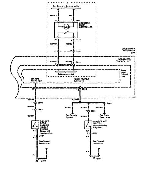 Acura Dome Light Wiring Engine Diagram For Nps