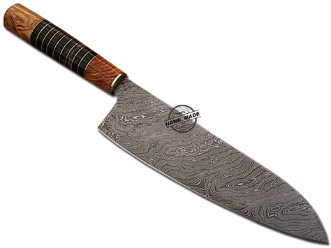 steel kitchen knives damascus chef knife custom handmade damascus steel kitchen