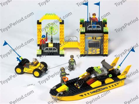 Lego Res Q Boat 301 moved permanently