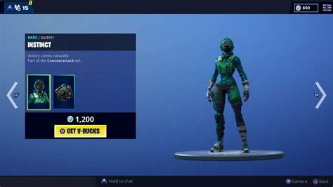 fortnite reflex instinct skins arrive  item shop