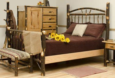 cabin furniture  log homes rustic hickory furniture