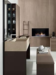 Meuble Salle De Bain Moderne : meuble salle de bain original pour ambiance zen et moderne ~ Nature-et-papiers.com Idées de Décoration