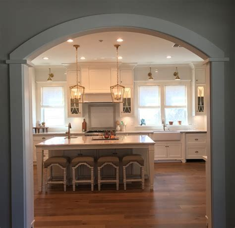 New Classic White Kitchen ? Renovation Inspiration   Home