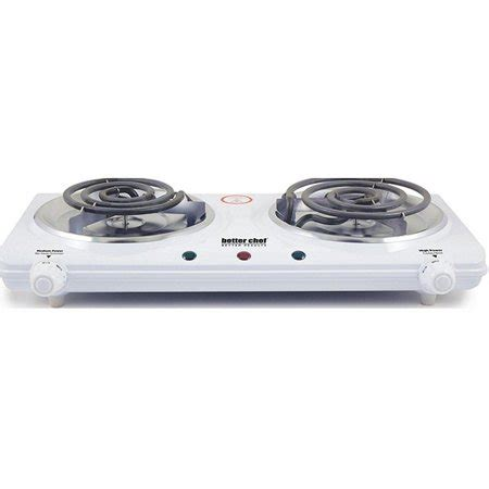 portable electric dual burner electric double countertop hot plate