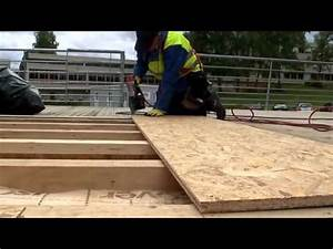 Realiser Un Plancher Bois : comment faire un plancher en bois youtube ~ Premium-room.com Idées de Décoration