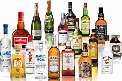 Brands Liquor Various Spirits