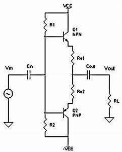 class b power amplifier circuit electronic circuit With class b amplifier