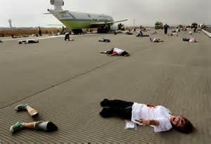 Graphic Plane Crash Victims