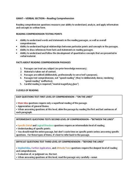 Gmat Rc Notes