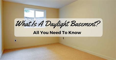 what is a daylight basement what is a daylight basement all you need to