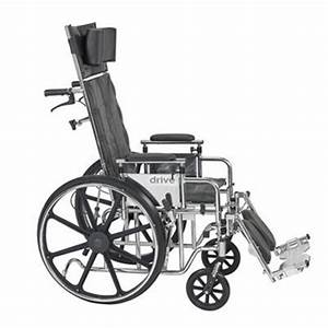 Drive Medical Deluxe Sentra Full Reclining Wheelchair