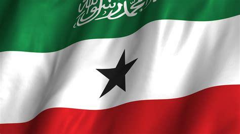 Somaliland Waving Flag Stock Video 12360379