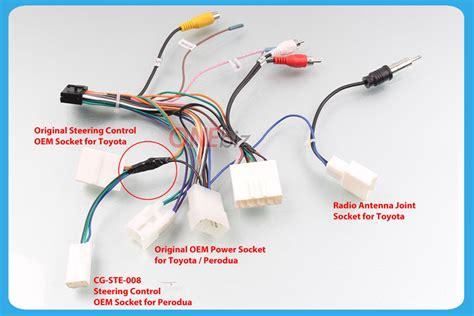 Wiring Diagram For Ste by Steering Socket Oem For Perodua Cg Ste 008