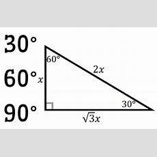 Math = Love Special Right Triangle Posters