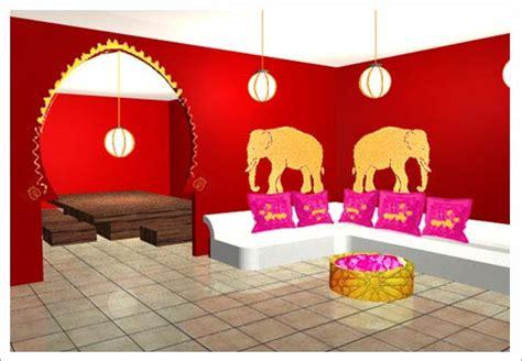 chambre style indien décoration indienne intérieure