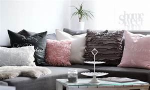Rosa Deko Wohnzimmer : wohnzimmer weiss rosa grau lavie deboite wohnzimmer wohnzimmer wohnzimmer grau und ~ Frokenaadalensverden.com Haus und Dekorationen