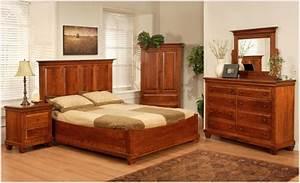 Florentino Mennonite Cherry Bedroom Suite - Lloyd's