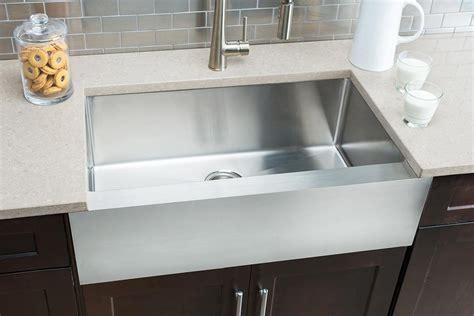 large bowl kitchen sink hahn flat apron farmhouse large single bowl sink jpg 6783