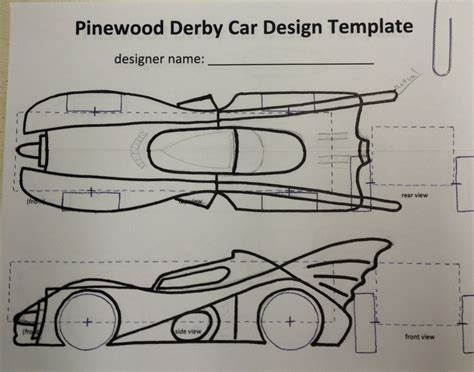 pinewood derby truck templates how to build an awesome batmobile pinewood derby car kurt s