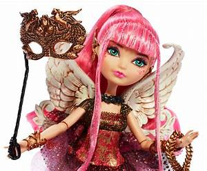 Ever After High Thronecoming C.A. Cupid Rebel Doll: Amazon ...