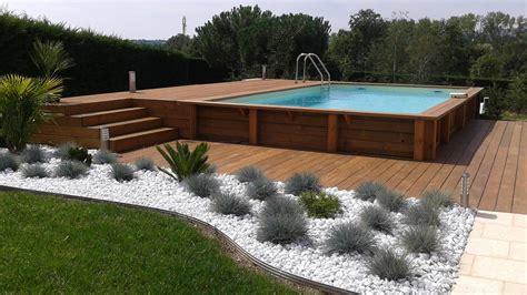 piscine bois azurea piscine id 233 es pour la maison piscine hors sol ground