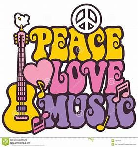 Love And Peace : peace love music stock vector illustration of slogan ~ A.2002-acura-tl-radio.info Haus und Dekorationen