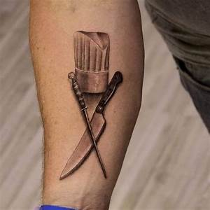 51+ Chef Hat Tattoos