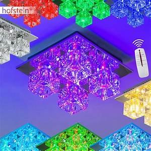 Deckenlampe Mit Farbwechsel : design led rgb farbwechsel deckenleuchte mit fernbedienung ~ A.2002-acura-tl-radio.info Haus und Dekorationen