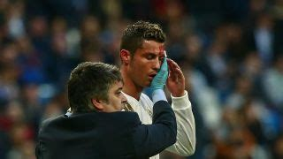 Selfie or stitches? Ronaldo bloodied after Madrid brace ...